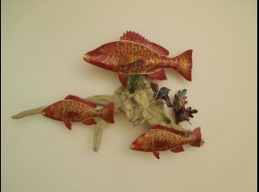 Red Snapper - 3 $225 18x26